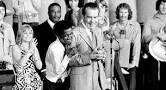 Nixon and Sammy Davis jr