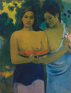 Gaugin painting