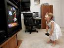 girl and video game
