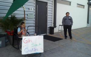 GS cookie seller