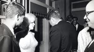 JFK and woman