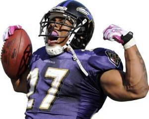 Ray Rice arms