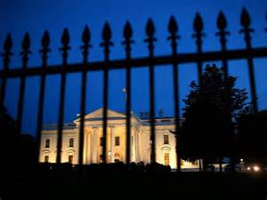 White House gate