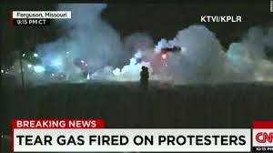 Fergsuon tear gas