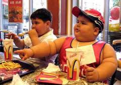 fat kid at McDs
