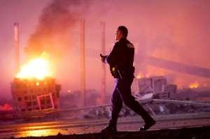 Baltimore burns