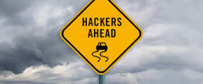 auto hacking sign