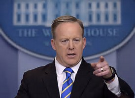 First 100 days real sean spicer