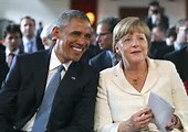 trump and obama merkel 2 pic