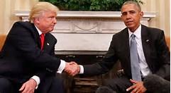 trump and obama pic